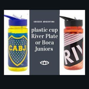 Plastic cup Boca Juniors  or River Plate Argentina